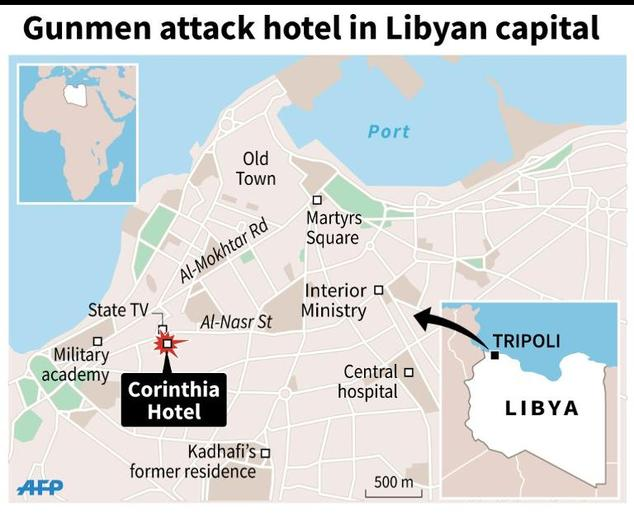 Nine-dead-in-attack-on-luxury-Tripoli-hotel