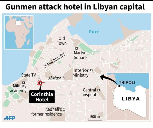 Nine-dead-in-attack-on-luxury-Tripoli-hotel