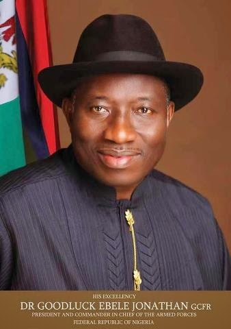 Goodluck Jonathan official photo